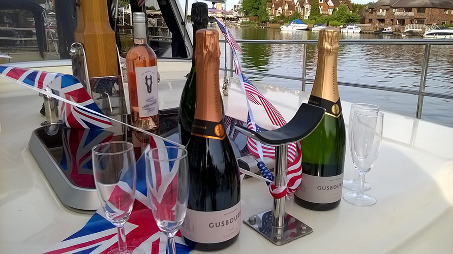 Luxury Wine Tasting on the River Thames